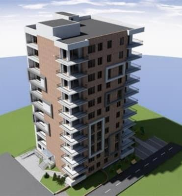 Apartment for sale in a building under construction, 2 room(s), 60 m²